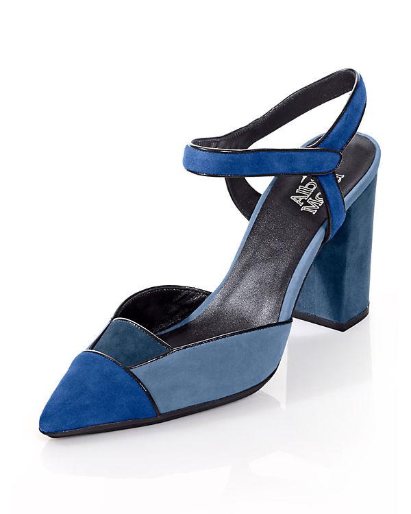 Alba Moda Sling-Pumps blau