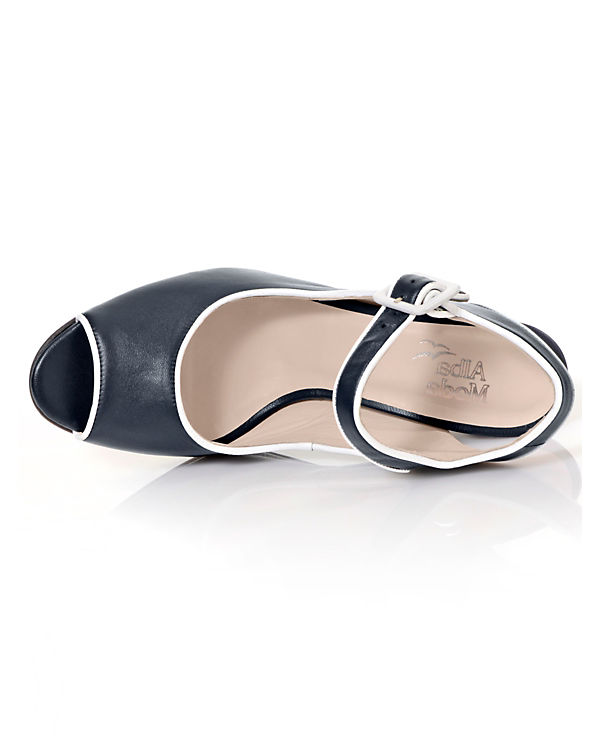Alba Moda Klassische Sandaletten dunkelblau
