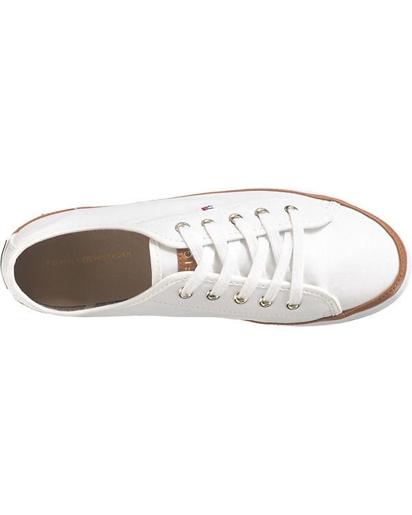 TOMMY Sneakers HILFIGER, ICONIC KESHA SNEAKER Sneakers TOMMY Low, weiß 299901