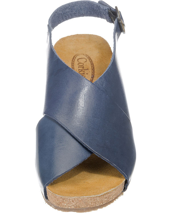 CORKIES 16D022 Klassische Sandalen blau