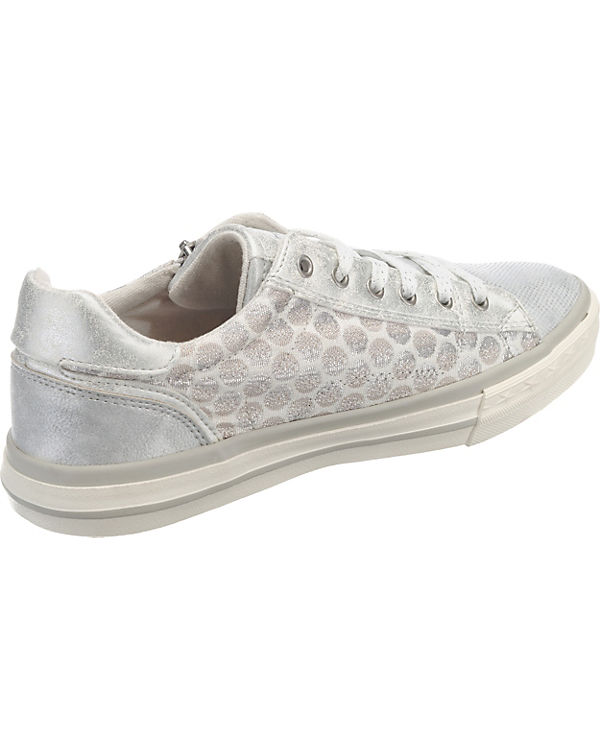 MUSTANG Sneakers Low silber Billig Verkauf Footlocker Bilder Günstiger Preis Gibt Verschiffen Frei Rabatt Verkauf Freies Verschiffen Billig 0OCOcziy