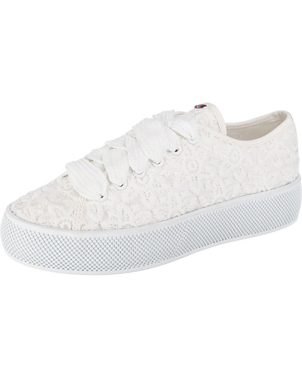 ESPRIT Embro weiß Sneakers Low Barbie ppHrZf