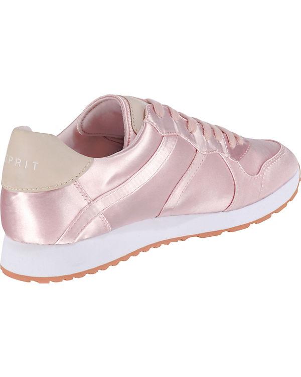 pink ESPRIT up Lace Amu Sneakers Low rEXEqH