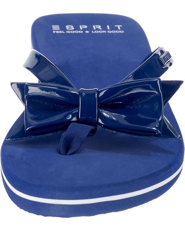 Bow ESPRIT Doro ESPRIT blau Pantoletten Doro zxZ1x6