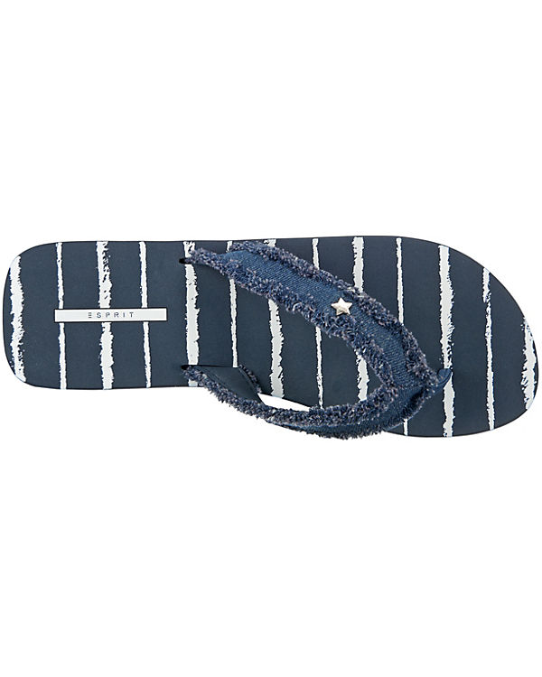 ESPRIT blau ESPRIT Pantoletten Danny Danny Stripe 4wnU8zq