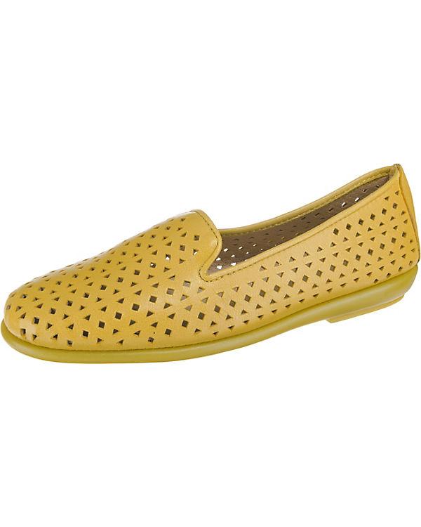Aerosoles You Betcha Velvet Loafers gelb