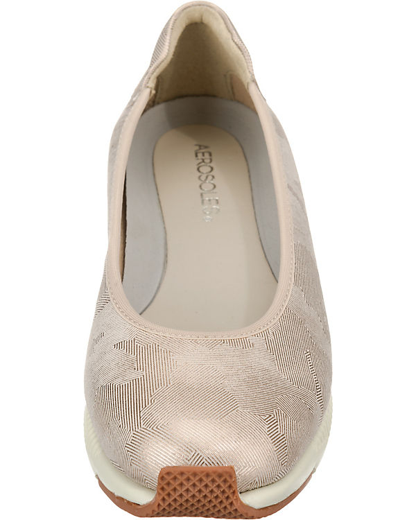 Nicely Klassische Aerosoles Ballerinas Tequila beige Done fdwnqxCvU
