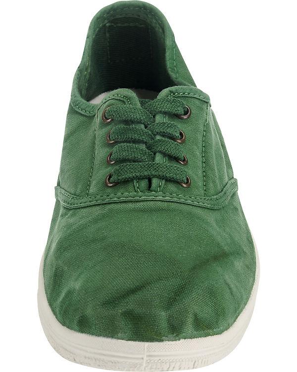 natural world INGLES ENZIMATICO Sportliche Slipper grün
