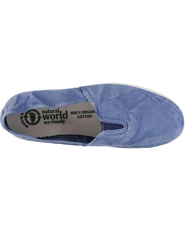 natural world, blau CAMPING ENZIMATICO Sportliche Slipper, blau world, 829915