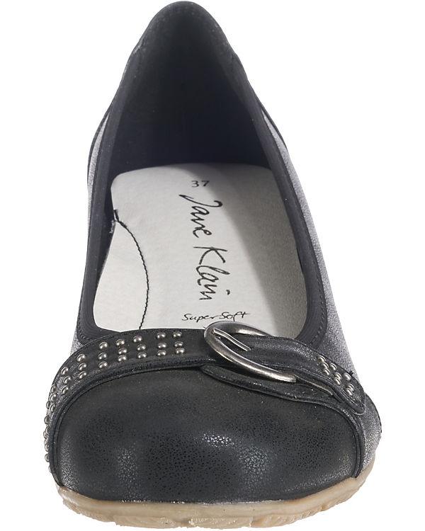 schwarz Ballerinas Jane Klassische Klassische Klain schwarz Ballerinas Klain schwarz Klain Jane Jane Klassische Ballerinas SOIwHpnqg