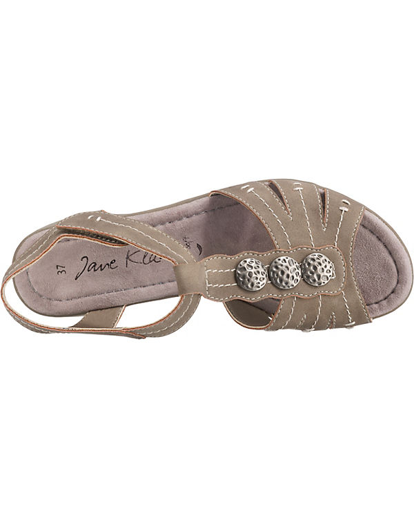 Sandaletten Klain Steg Jane beige T grau qg8pw4H