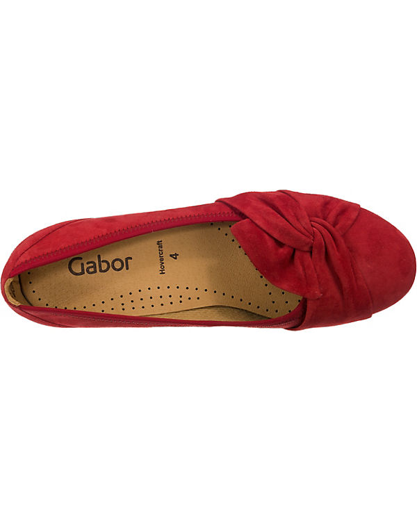rot Gabor Gabor Ballerinas rot Klassische Gabor Klassische Ballerinas Z0aqxgBw
