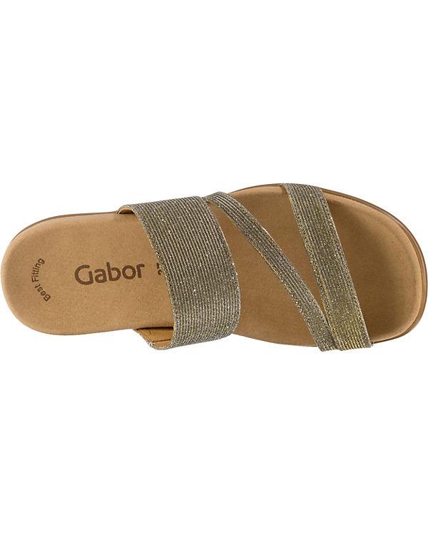 Komfort Gabor Komfort Pantoletten bronze Gabor Komfort bronze Pantoletten Gabor 7qqHwtT