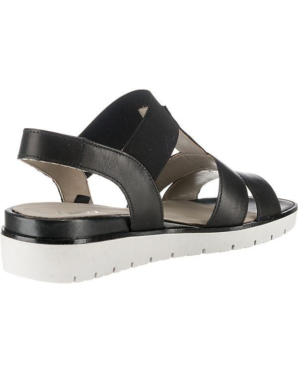 Gabor Plateau-Sandaletten schwarz Verkauf Exklusiv Günstigen Preis Kaufen Rabatt Kostenloser Versand Zu Kaufen PVIGTyl8N