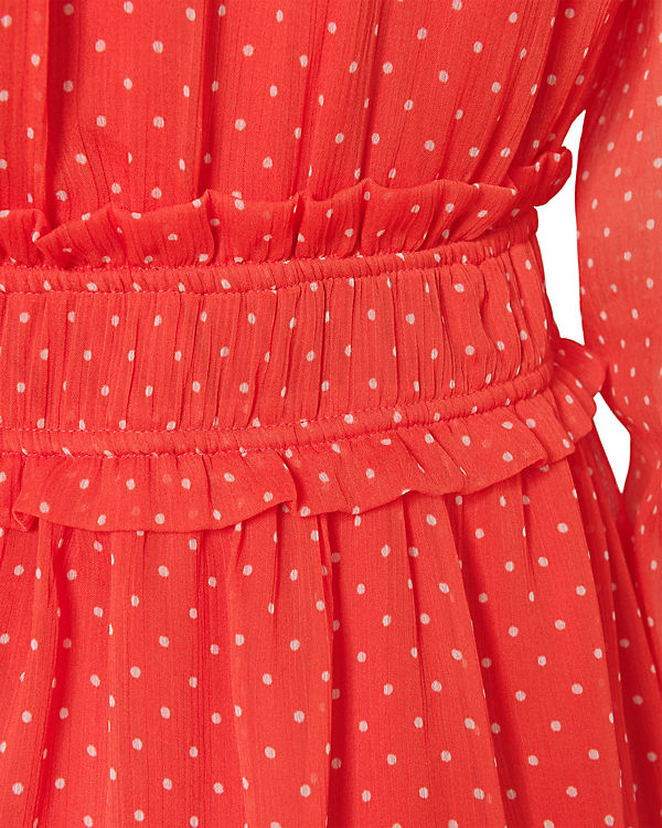 MODA VERO rot weiß Kleid VERO MODA vEFqTq
