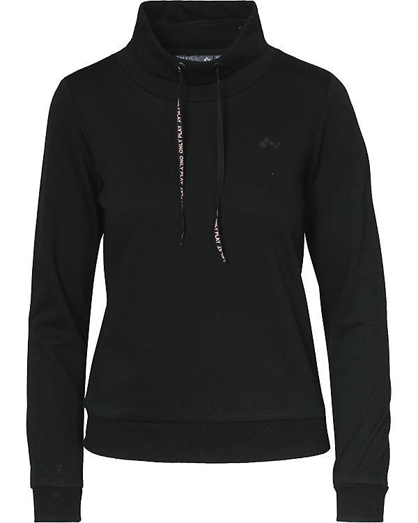 Only Play Sweatshirt schwarz