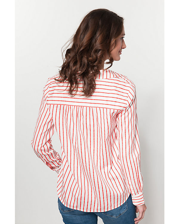 weiß TOM Bluse TAILOR TOM Bluse rot rot TAILOR wA0gPqw