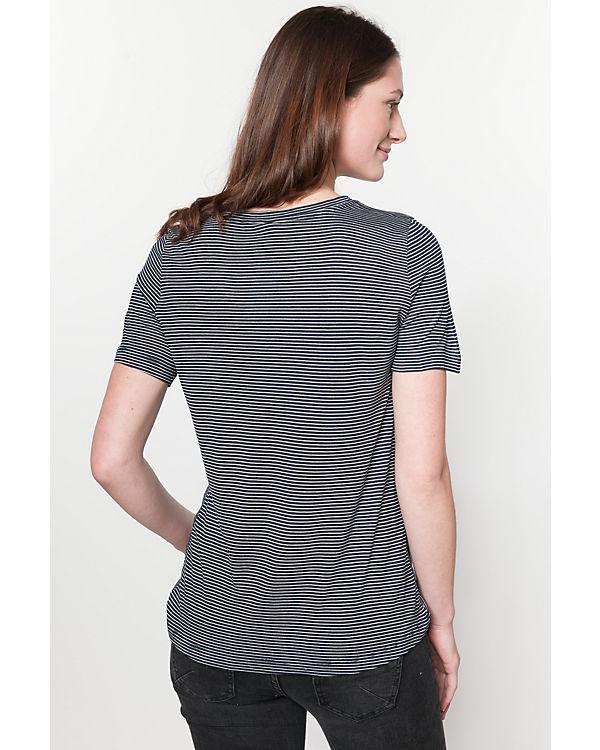 Shirt T weiß MODA VERO blau wqZU7