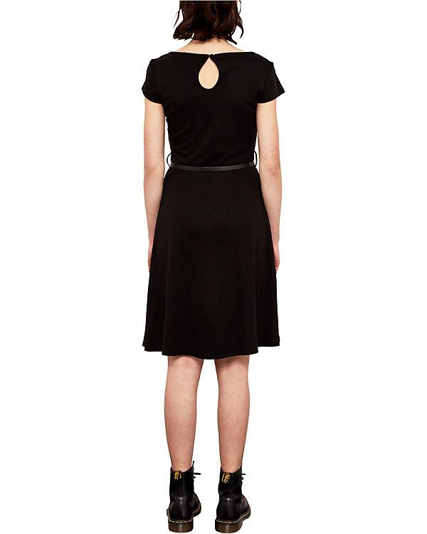 Q S Q Jerseykleid Q Jerseykleid S S Jerseykleid schwarz schwarz 6a1agq