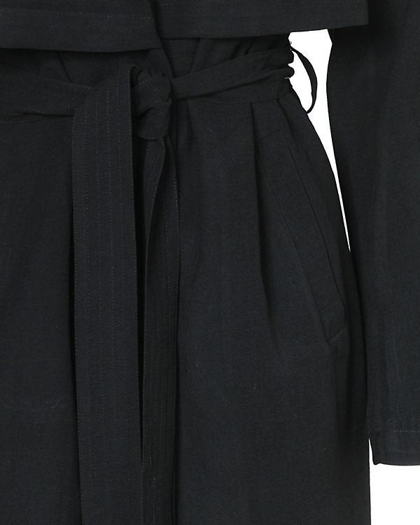 pieces Trenchcoat schwarz