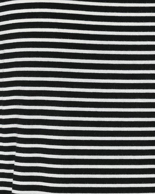 pieces T-Shirt schwarz/weiß