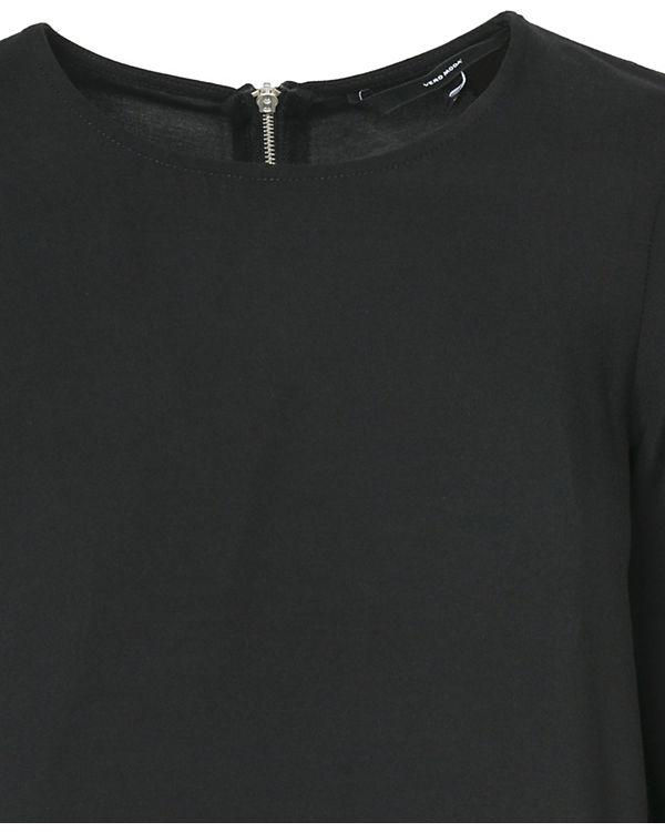 VERO MODA VERO schwarz Bluse MODA Ppwqnvrp