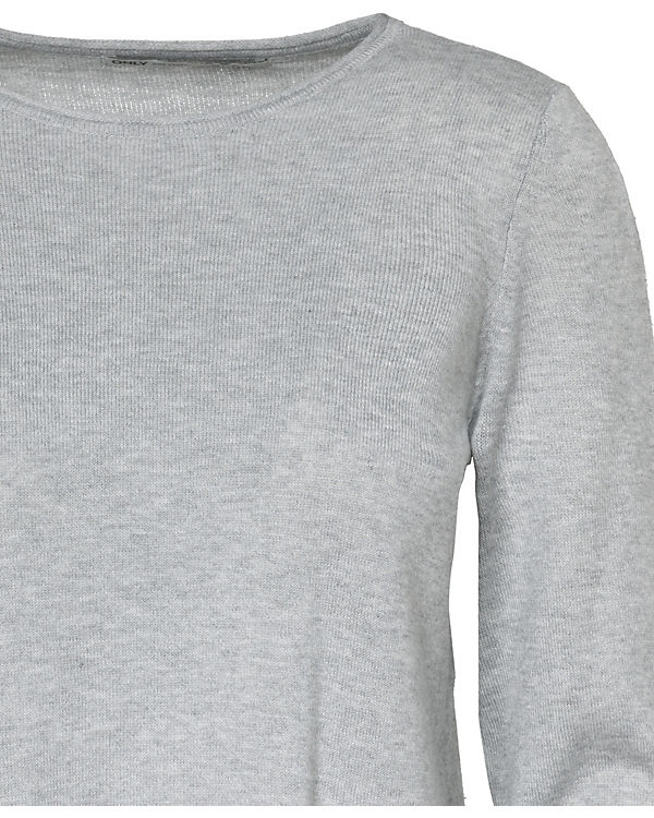 ONLY hellgrau hellgrau Pullover ONLY ONLY ONLY Pullover Pullover hellgrau Pullover P4Cnwq