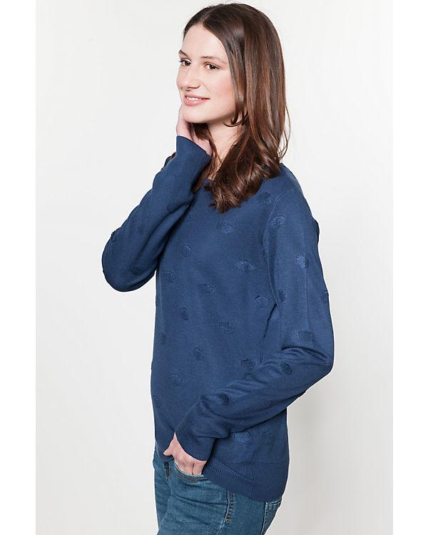 Jacqueline de Yong Pullover blau