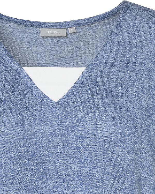 fransa T Shirt fransa Shirt blau T blau Shirt blau fransa fransa T Shirt T fransa blau An4qWRR