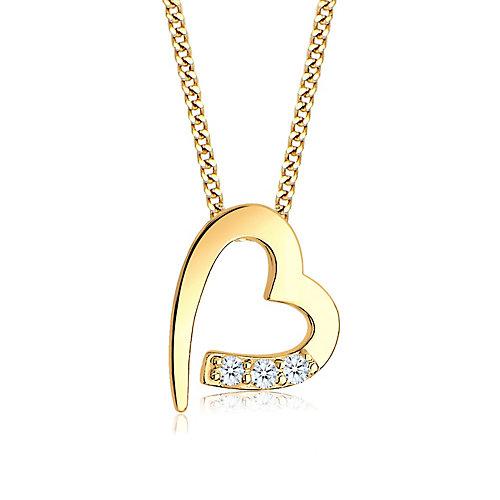 Diamore Halskette Herz Diamanten (0.06 ct.) 585...