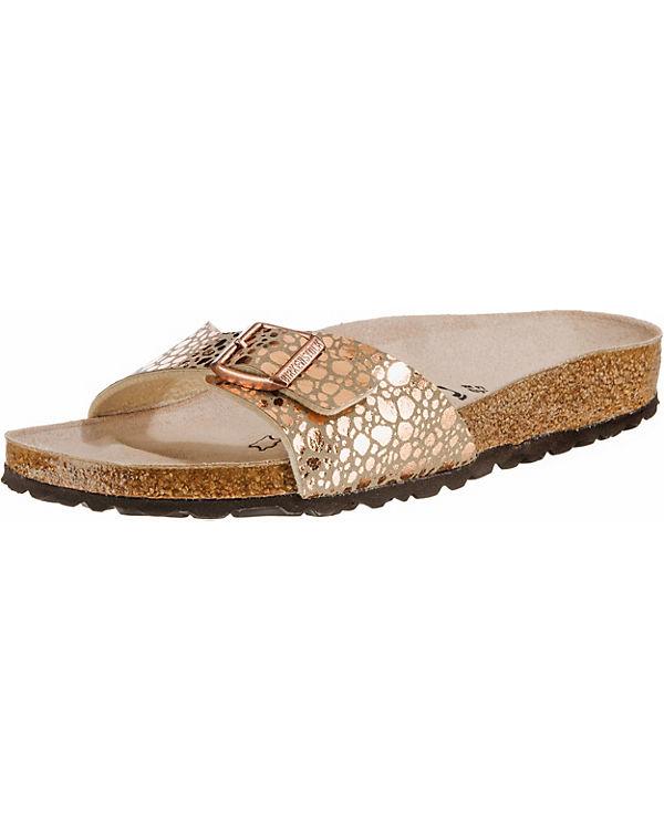 bac035d27d3549 Birkenstock Madrid Bronze Schmal Komfort-pantoletten karlglatt.de