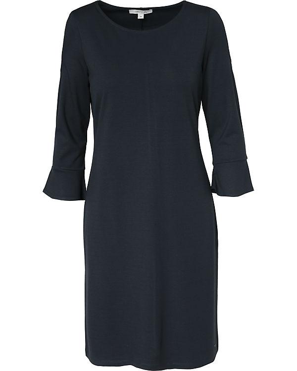 comma Jerseykleid dunkelblau