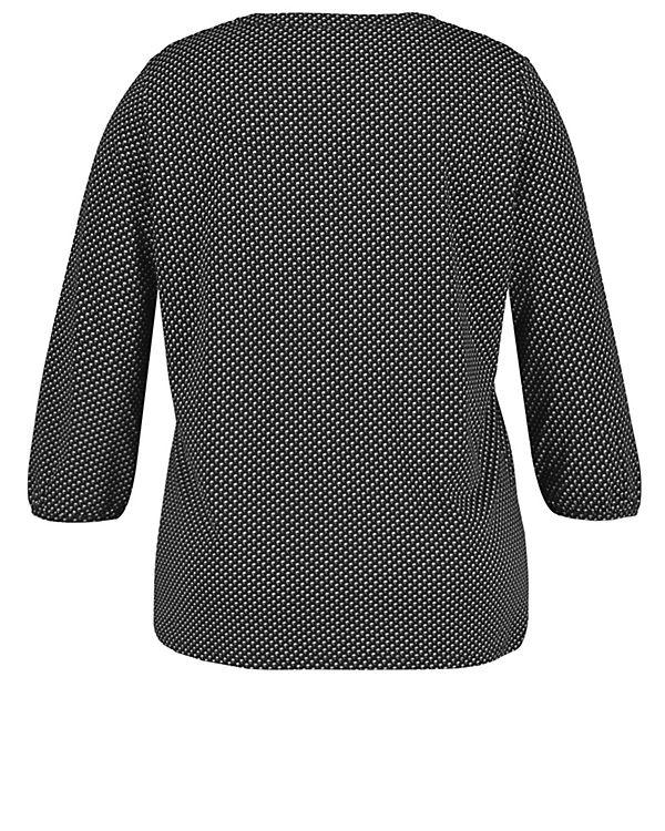 schwarz 4 3 Arm Shirt Samoon qSRwIn5O75