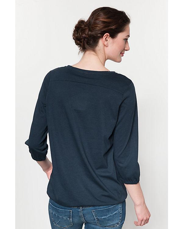Shirt Arm dunkelblau Soyaconcept 3 4 TfwfqZ4