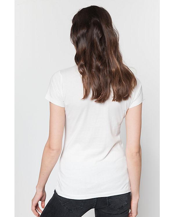 T T weiß BENCH Shirt BENCH Shirt T Shirt BENCH weiß Shirt T weiß BENCH EwHAgAcq