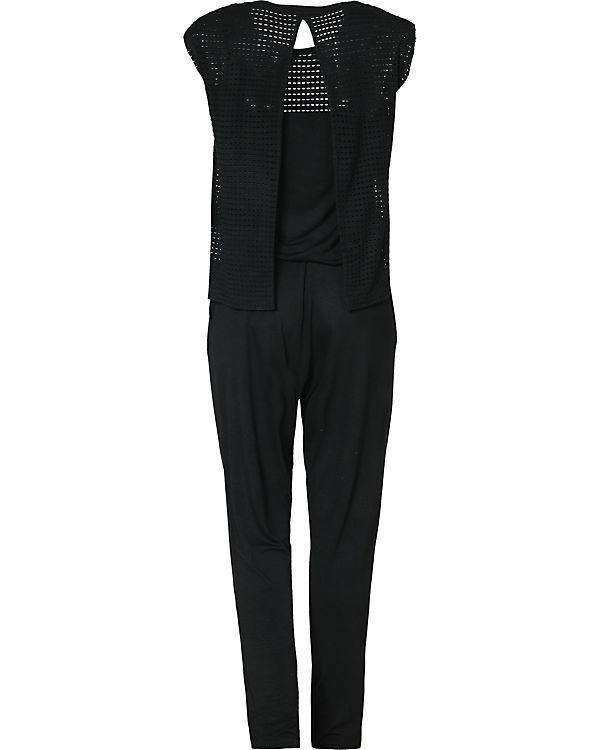 BENCH Jumpsuit schwarz
