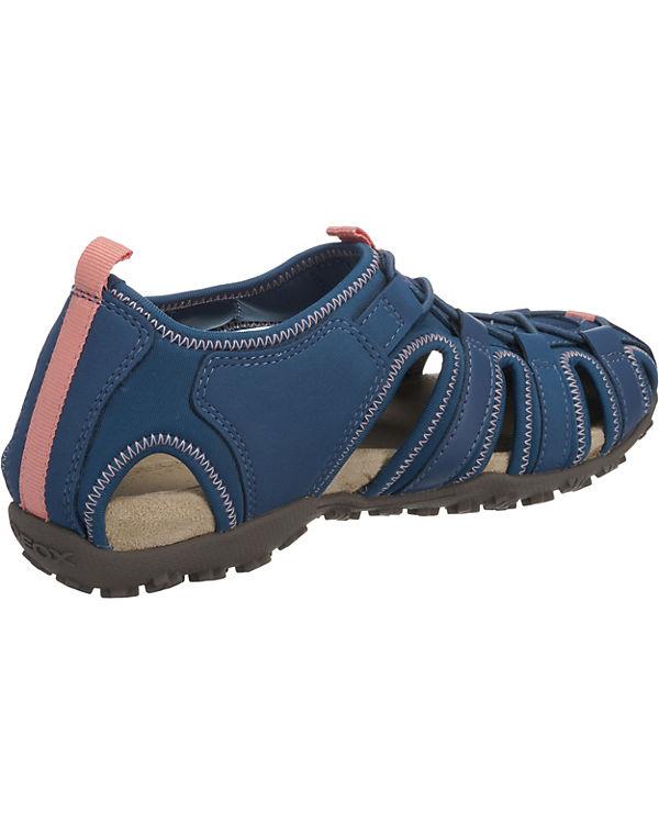 GEOX DONNA SANDAL STREL Komfort-Sandalen denim