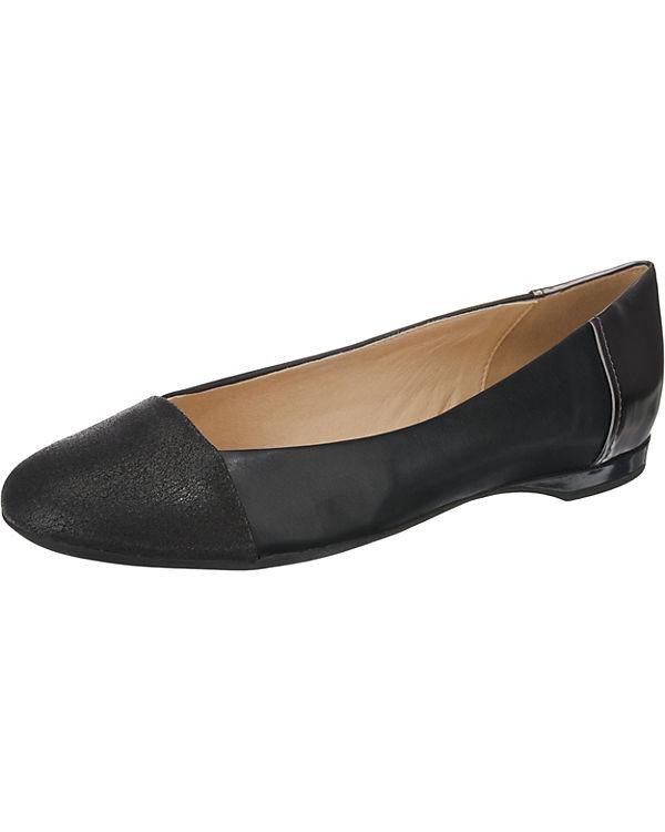 GEOX, D LAMULAY Klassische Ballerinas, schwarz schwarz Ballerinas, bac1b8