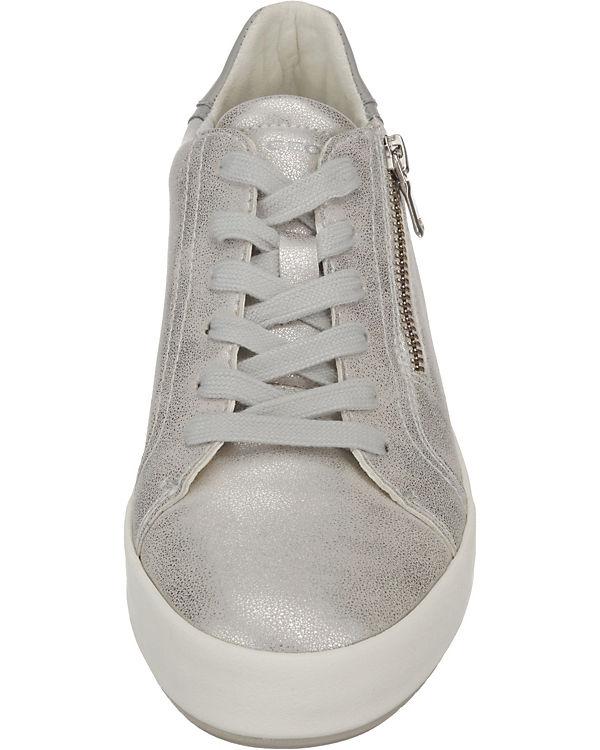 GEOX, D BLOMIEE Sneakers Sneakers BLOMIEE Low, weiß 8f0dcb