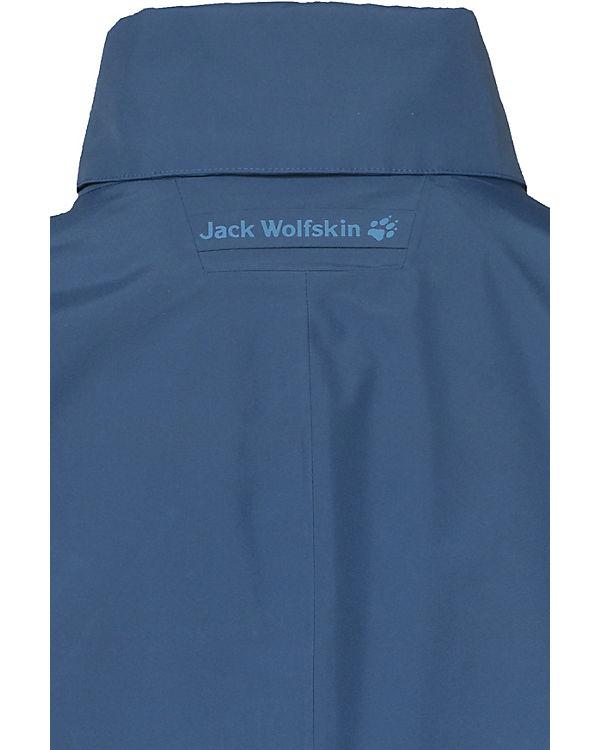 Jacke Jack Wolfskin Newport Jack Wolfskin blau Jacke dax1Sx