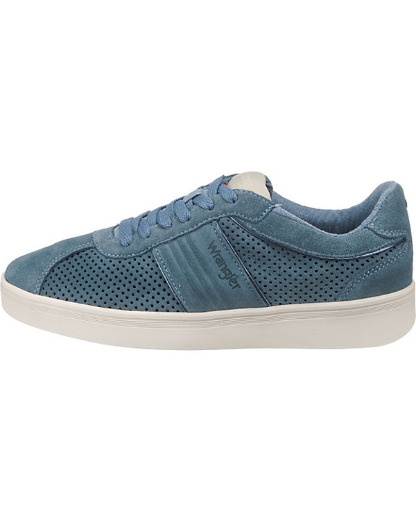 Sneakers hellblau Low City Wrangler Micky xfY07E
