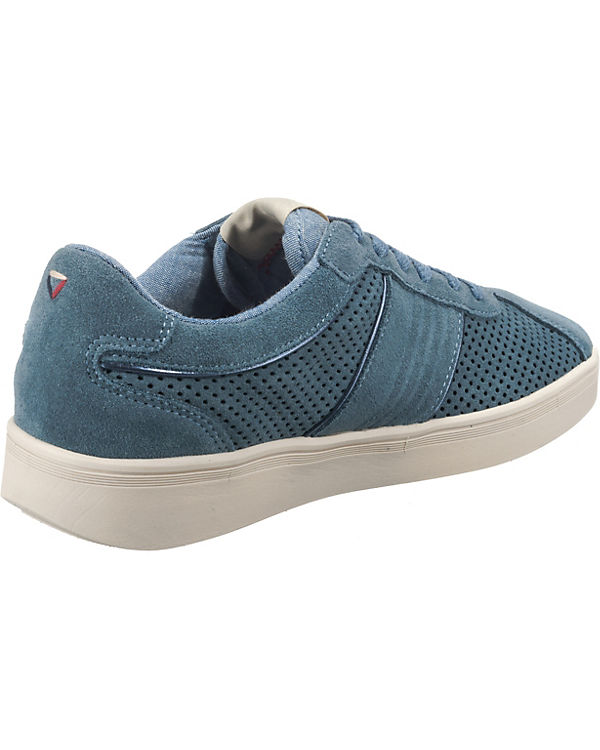 City Sneakers Wrangler Low hellblau Micky 05xEqBz