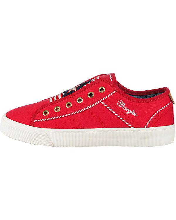 Wrangler Starter Lace Sneakers Low rot