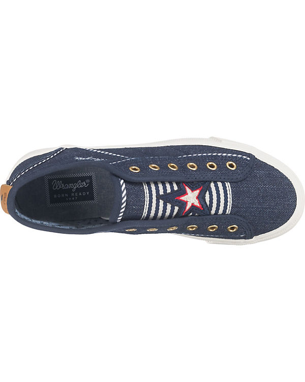 Wrangler Starter Lace Sneakers Low blau
