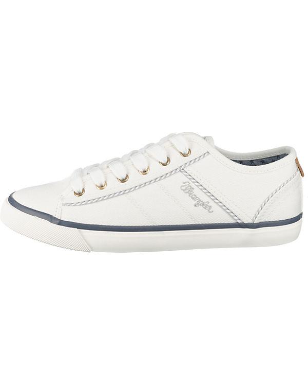 Wrangler Starry Sneakers Low weiß