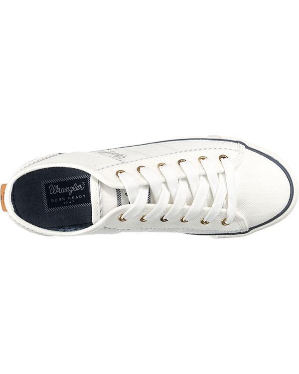 Wrangler Sneakers Wrangler Starry Starry Low weiß 7tn5Wwq0