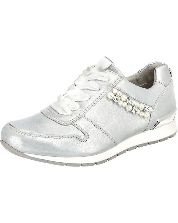 Low kombi Sneakers TOM silber TAILOR xI11wE