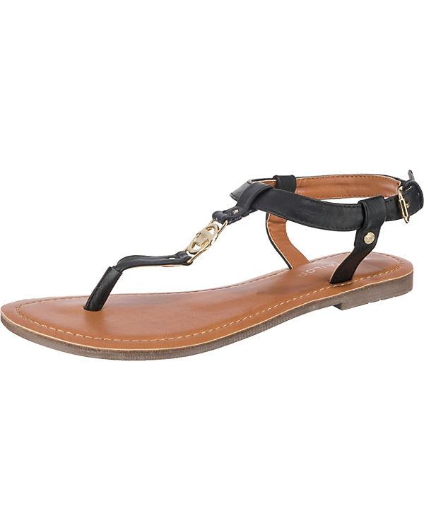 kombi Sandalen schwarz TOM TAILOR Steg T xqRwtX70