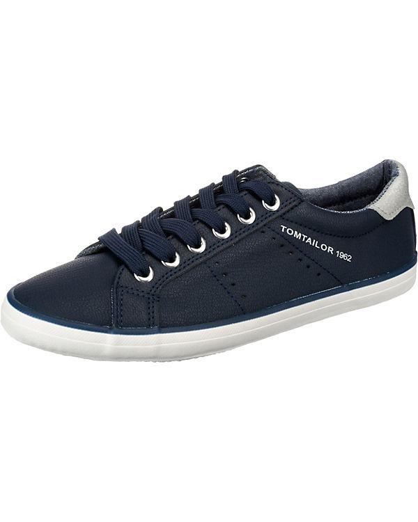 blau Low TOM TAILOR kombi Sneakers OqwPwv