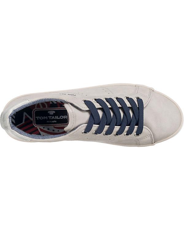 Low grau Sneakers TOM kombi TAILOR qzRwPwtrEx